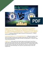 Prediksi Bola Chelsea Fc vs Manchester City Fc 8 Desember 2018