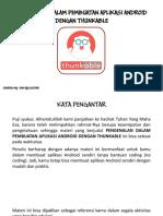 Pengenalan Dalam Pembuatan Aplikasi Android Dengan Thunkable