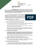 Demanda juicio de nulidad acuerdo consejo directivo oapas