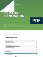 Demand Generation Best Practices Guide