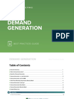 Demand Generation Best Practices Guide