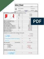 181205 Steel Column Base Plate