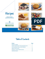 Complete List Foodservice Breakfast Recipes