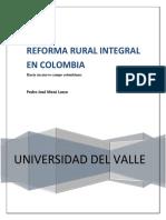 Reforma Integral en Colombia