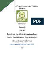 Ambiente Excel Jessica Axle Bermejo 1°E
