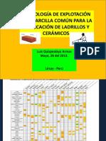 1ra Clase de Arcilla- 2013