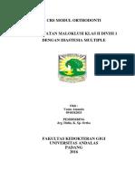 Case report Ortodonti
