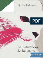 La Naturaleza de Los Gatos - Stephen Budiansky