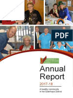 Edenhope and District Memorial Hospital Hospital 2017-2018 Annual Report