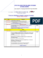 Acara Seminar International Kediri 2013