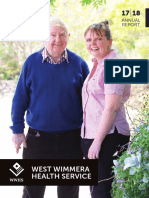 West Wimmera Health Service Annual Report, 2017-18