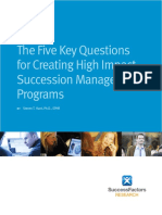 Succession Planning White Paper