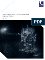 CAP 1077 Specification for an Offshore Helideck Lighting System