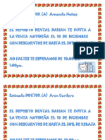 Cartas Por Correspondencia Deposito Dental