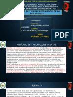 ARTICULOS 28 Y 29 -EXPOSICION DE SEMINARIO OK!.pptx