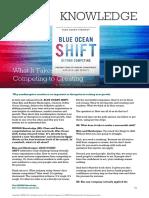 Blue Ocean Shift - summary
