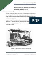 primeros tractores, accidentes