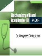 K - 8 Blood Brain Barrier (Biokimia)