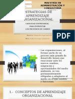 Estrategias de Aprendizaje Organizacional