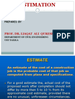 Estimation of House Power Point