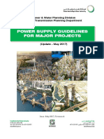 Power Supply Guidelines for Major Project 2018