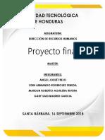 Comportamiento Organizacional - Proyecto Final