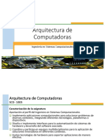 Arq Computadoras Presentacion