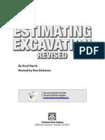 Estimating Excavation [Deryl Bunch]