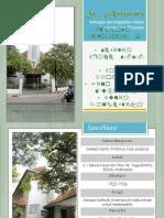 Sejarah Arsitektur Santo Antonius Van padua Kotabaru Yogyakarta