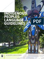 Ubc Indigenous Peoples Language Guide