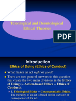 Teleological and Deontological Ethical Theories Copy