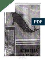 Ictiologia General - Ing. Mario Barreda Oyanguren