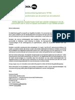 Hogeschool PXL - brief gebruikersgroep Digitale Tranformatie Retail