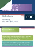 Ultrasonografi Abnormalitas Endometrium (Wb-2)