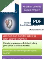 Kelainan Volume Cairan Amnion_WB 1 TIL