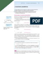 10.2 Curvas Planas y Ecuaciones Parametricas