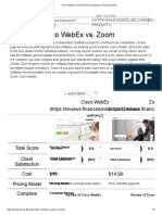 Cisco WebEx vs Zoom 2018 Comparison _ FinancesOnline