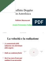 Mazzucconi - L Effetto Doppler