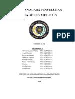 Satuan Acara Penyuluhan Diabetes Melitus
