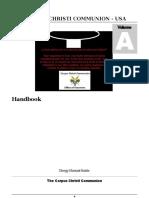 Corpus Christi Communion - HandbookManualVolA CCC 2018
