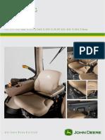JOHN DEERE Seat Overview 70x0 80x0 90x0