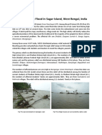 A Short Report on Flood Situation in Sagar Island