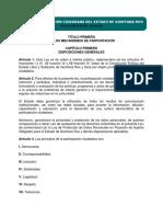 Ley de Participación Ciudadana de Quintana Roo