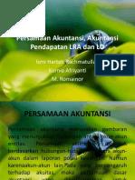 Persamaan Akuntansi, Akuntansi Pendapatan LRA Dan LO