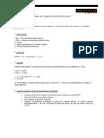 Formulas y Ejemplos Depositos a Plazo