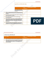 Corporate Governance Assessment Template