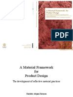 A Material Framework for Product Design - the development of reflective material practices
