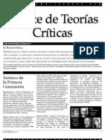 Debate de Teorías Críticas