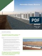 Aurecon Hornsdale Power Reserve Impact Study 2018