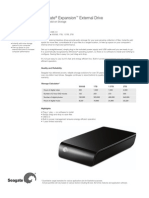 Seagate Expansion Specifications